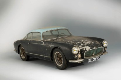 1956 Maserati A6G Gran Sport Frua , Collection Baillon © Artcurial