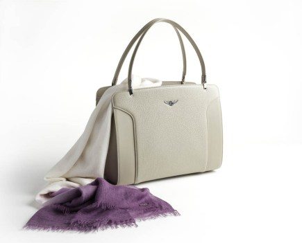 Bentley Cashmere Scarf and bag