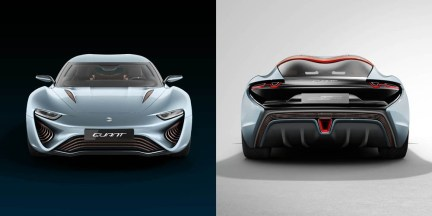 QUANT e-Sportlimousine front and back