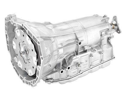 The Hydra-Matic 8L45 eight-speed automatic transmission used in