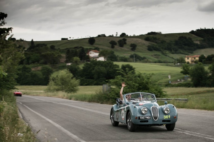 Jaguar at Mille Miglia 2015, Italy
