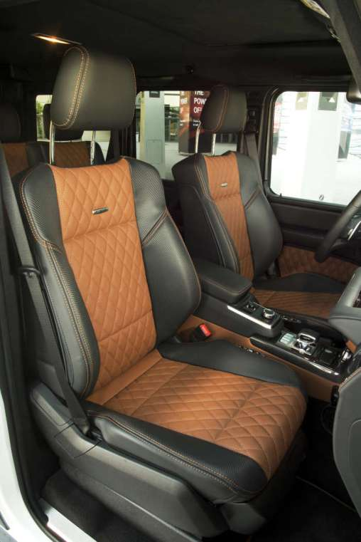 PTD G – Experience Frankfurt September 2015 G 63 AMG Edition 464 Polar weiss