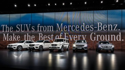 The new SUVs from Mercedes-Benz