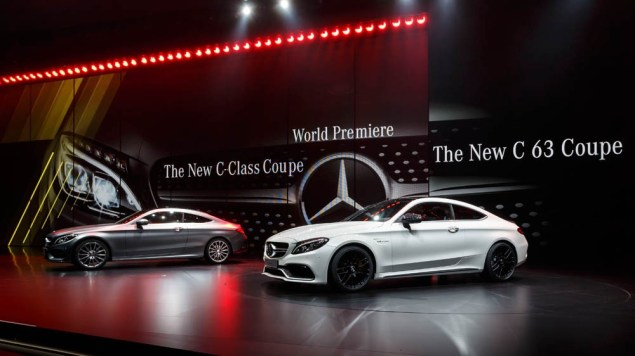 Ola Källenius, Member of the Board of Management of Daimler AG, Mercedes-Benz Cars Marketing & Sales presents the new C-Class C-Class Coupé
