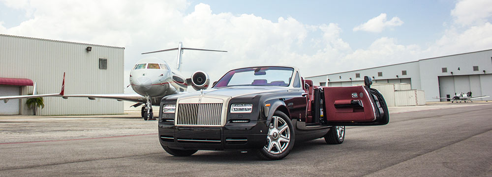Rolls Royce Drophead Rental Miami