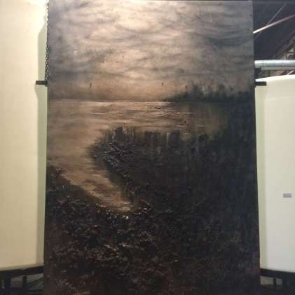 Title: CLE, Size: 96 x 144 inches