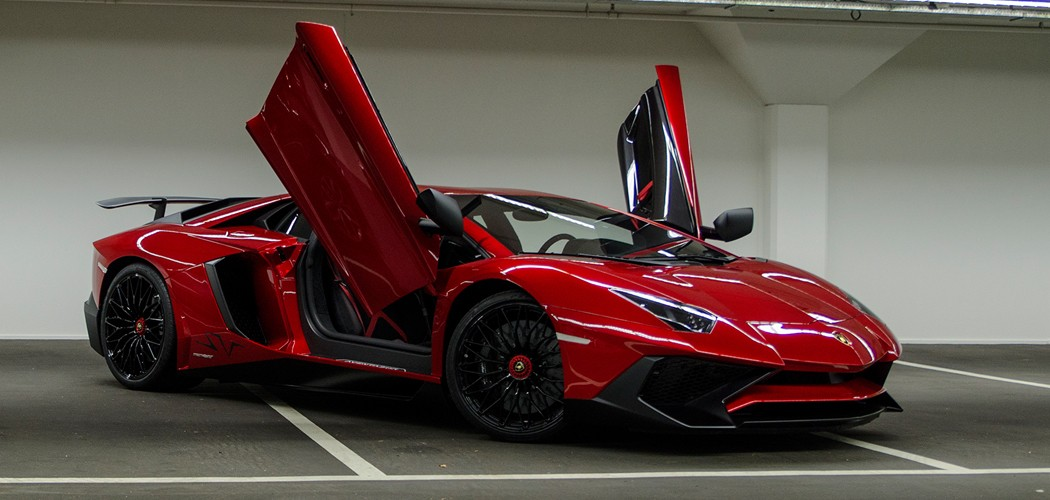 Afrojacks Lamborghini Aventador SV Captured By Bas