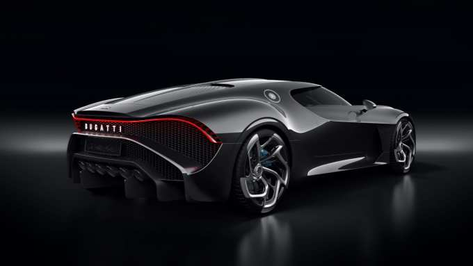 Shocking and graceful is the Bugatti La Voiture Noire