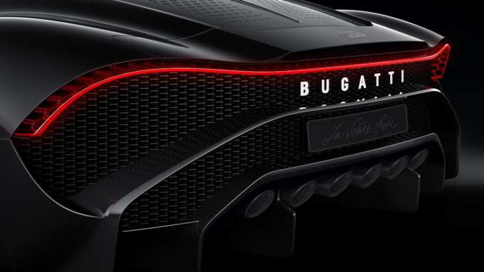 Rembrandt Bugatti would be proud to see the Bugatti La Voiture Noire