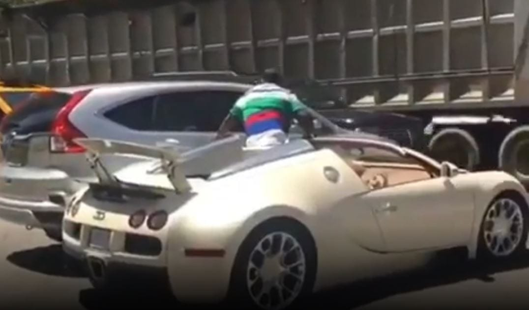 Tracy Morgan S Bugatti Veyron In Accident Right After He