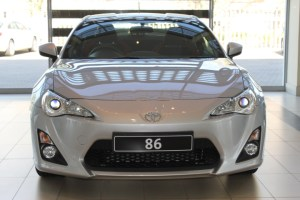 Toyota 86 Silver 2