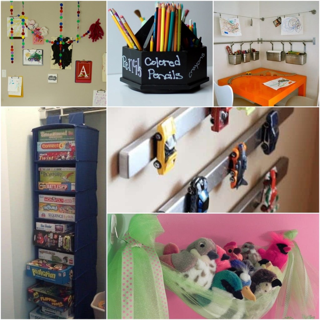 kid friendly apartment collage