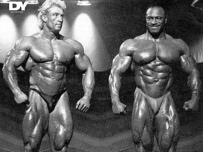 The first ever Mr. Olympia competition that Dorian took part in was against his own idol.