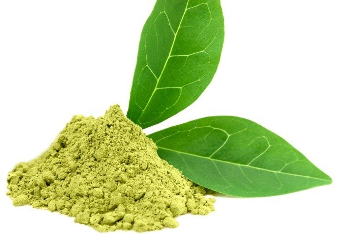In this picture you can see Teacrine in powder form. Teacrine is used a caffeine replacement.