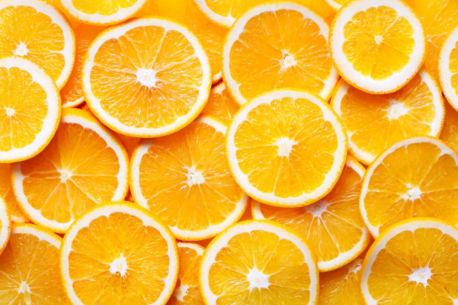 Oranges contain a high amount of vitamin c