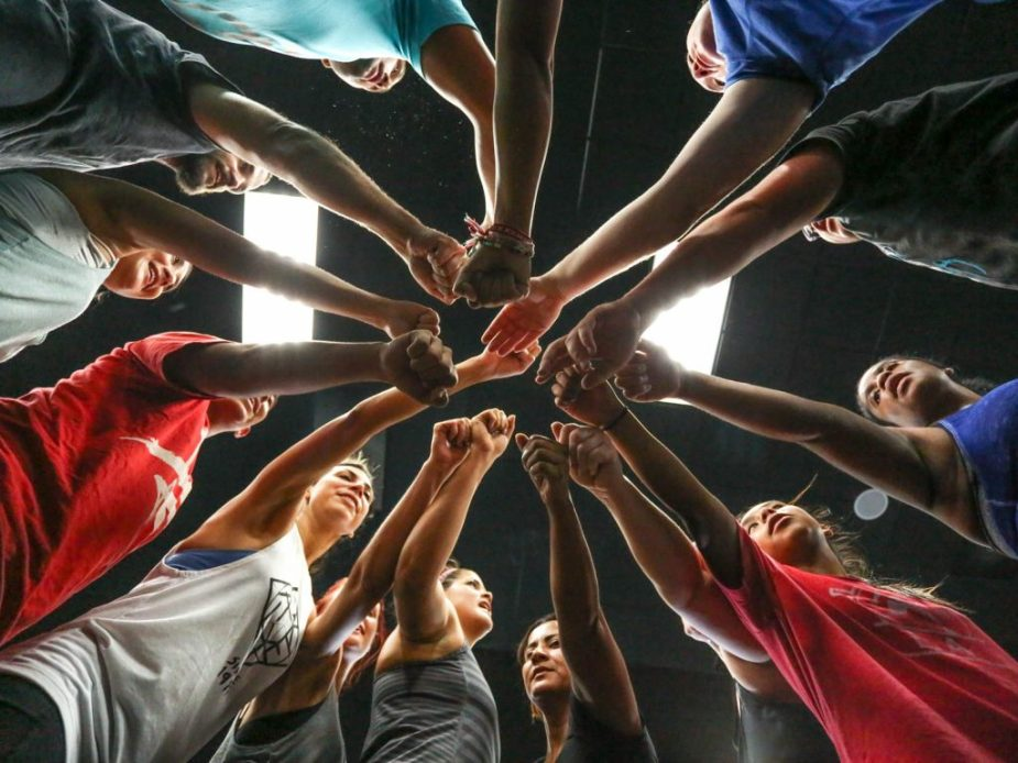 Being part of a community is a wonderful thing. CrossFit community  is large.