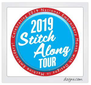 Stitch Along Tour_Designs in Machine Embroidery