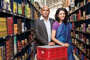 Krishnan and Meena Ganesh