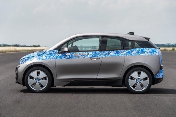 Seitenansicht i3. Quelle: BMW Group