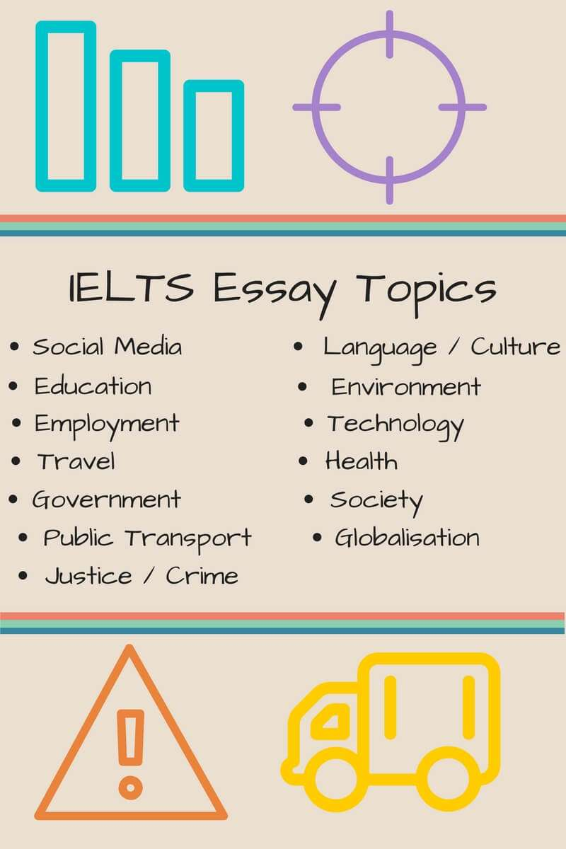 essay on ielts topics Try free practise ielts academic writing task 1 and task 2 questions, including sample answers time yourself and develop your writing exam technique.