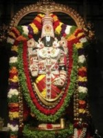 Lord Vishnu as Venkateswara