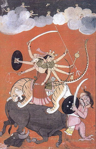 Durga Mahisasuramardini