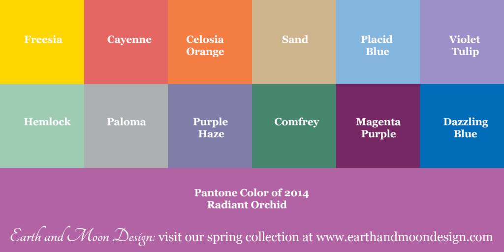 Earth and Moon Design Spring 2014 Collection