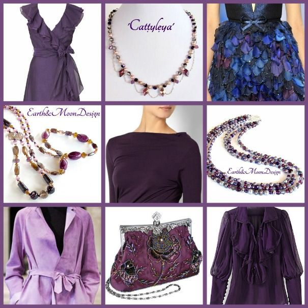 Our purple jewelry with fashion