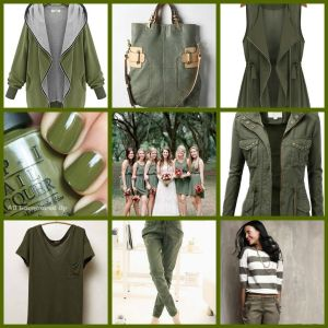camo trendy styles for spring green