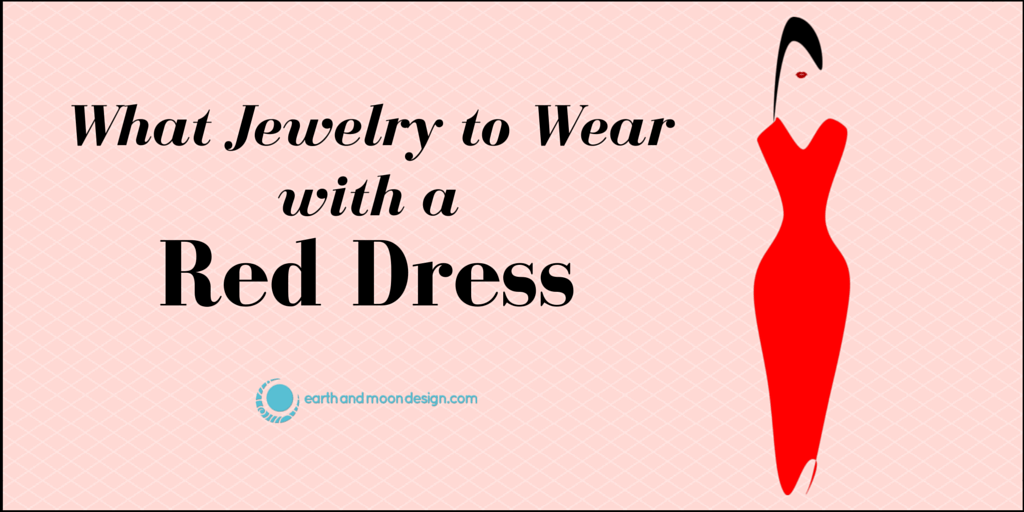What Jewelry to Wear with a Red Dress