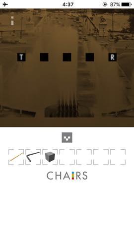 Th  脱出ゲーム 椅子 攻略 2979