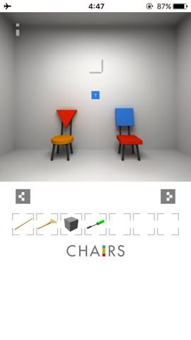 Th  脱出ゲーム 椅子 攻略 3008