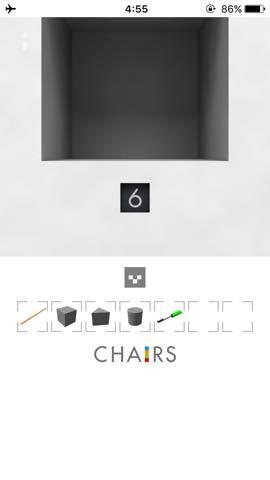 Th  脱出ゲーム 椅子 攻略 3024