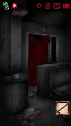 Th 脱出ゲーム 廃病院からの脱出 無影灯  攻略 66