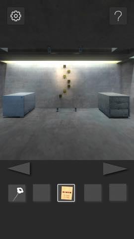 Th 脱出ゲーム  打放しコンクリートの部屋からの脱出  攻略 11