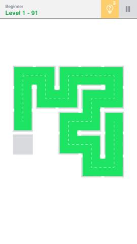 Th 頭が良くなる一筆書きパズル Fill 」 攻略 2185