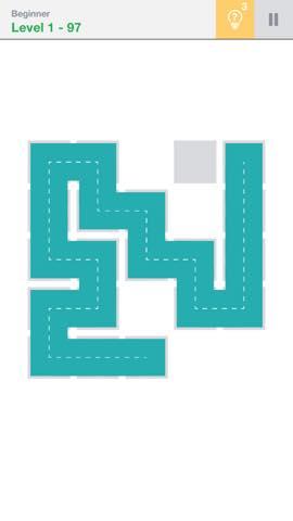 Th 頭が良くなる一筆書きパズル Fill 」 攻略 2191