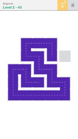 Th 頭が良くなる一筆書きパズル Fill 」 攻略 2237