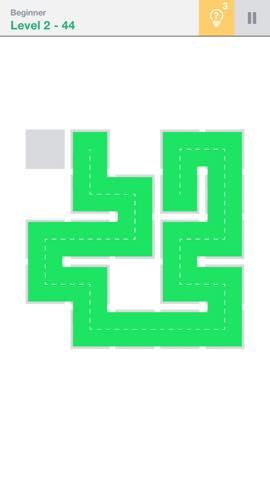 Th 頭が良くなる一筆書きパズル Fill 」 攻略 2238