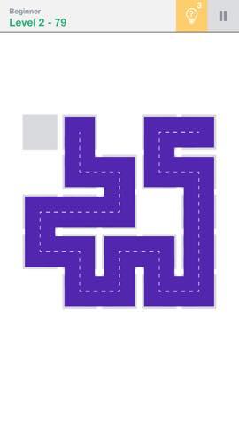 Th 頭が良くなる一筆書きパズル Fill 」 攻略 2273