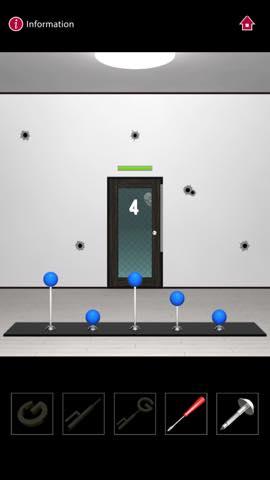 Th  脱出ゲーム  ゴルゴ13 DOOORS(Doors) 攻略 3067