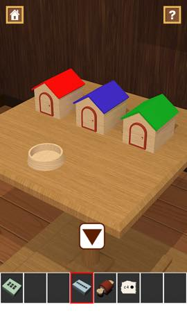 Th 脱出ゲームアプリ Wooden Toy  攻略 2361