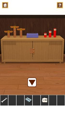 Th 脱出ゲームアプリ Wooden Toy  攻略 2366