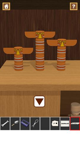 Th 脱出ゲームアプリ Wooden Toy  攻略 2389