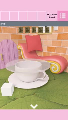 Th  脱出ゲーム Alice Room(アリスルーム) 攻略 lv1 0
