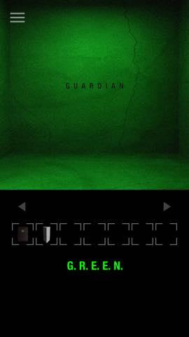 Th 脱出ゲーム GREEN(グリーン)   攻略と解き方 ネタバレ注意  3154