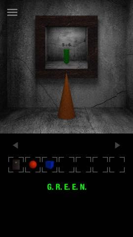 Th 脱出ゲーム GREEN(グリーン)   攻略と解き方 ネタバレ注意  3165