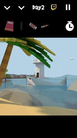 Th 脱出ゲーム サメに囲まれた無人島からの脱出  攻略と解き方 ネタバレ注意  2849