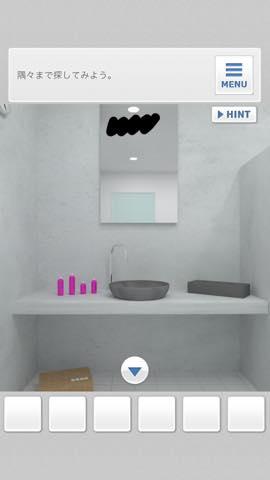 脱出ゲーム Bathroom  攻略と解き方 ネタバレ注意  3947