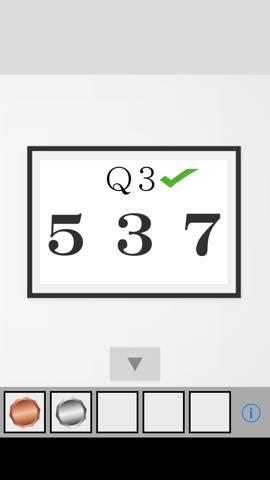 Th 脱出ゲーム Q  攻略と解き方 ネタバレ注意  2946